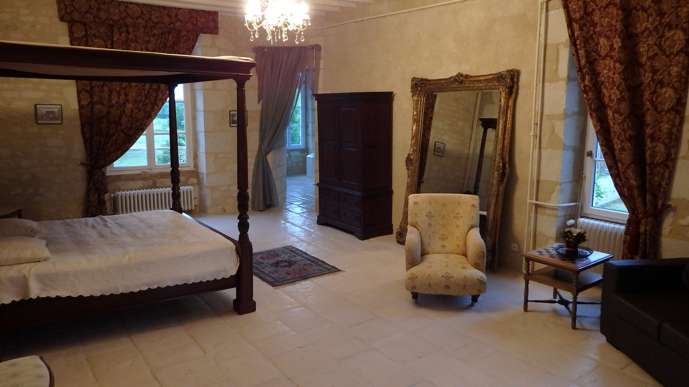 Chambre Pithivier Château de Blavou